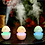Thumbnail: 0393 Funny USB Mini Egg humidiier with Colorful Night Light