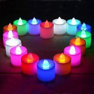 Led Light Candle Smokeless 24Piece/ Box LED Candles