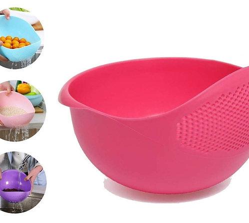 2062 Plastic Heavy Rice Bowl Strainer/Colander