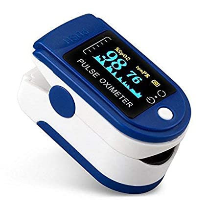 Oximeter, Multipurpose Digital Monitoring Pulse Meter Rate