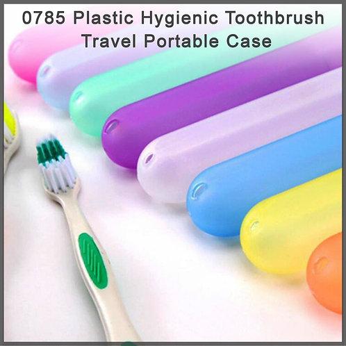 0785 Plastic Hygienic Toothbrush Travel Portable Case