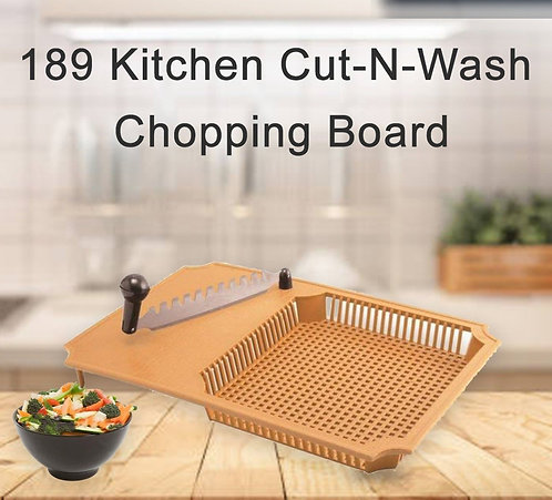 0189 Kitchen Cut-N-Wash Chopping Board