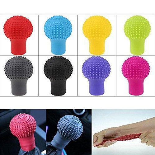 0278 Anti-Scratch Universal Fit Silicon Gear Shift Knob Protective Cover