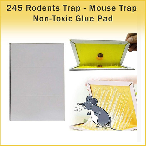 0245 Rodents Trap - Mouse Trap Non-Toxic Glue Pad