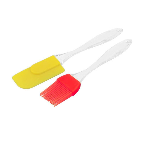 Sillicone Cooking Brush and Spatula