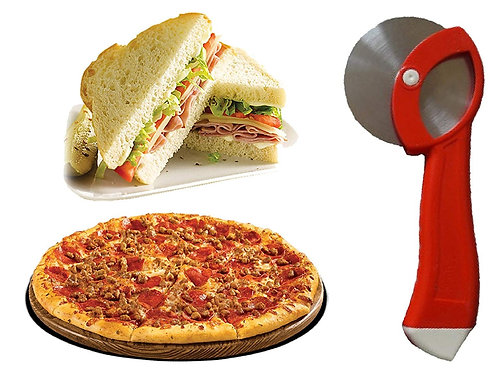 Pizza Slicer, Pizza Cutter Stainless Steel blade