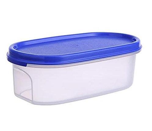 2073 Modular Transparent Airtight Food Storage Container - 350 ml