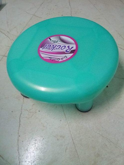 0809  5 Legs Strong Plastic Bathroom Patla Stool for Multipurpose Use
