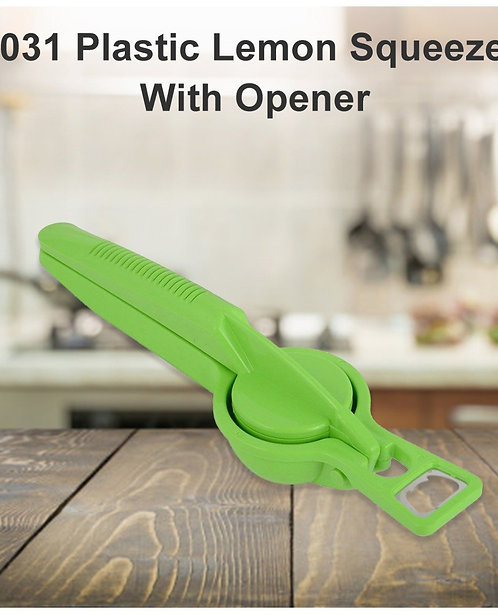 2031 Plastic Lemon Squeezer With Opener