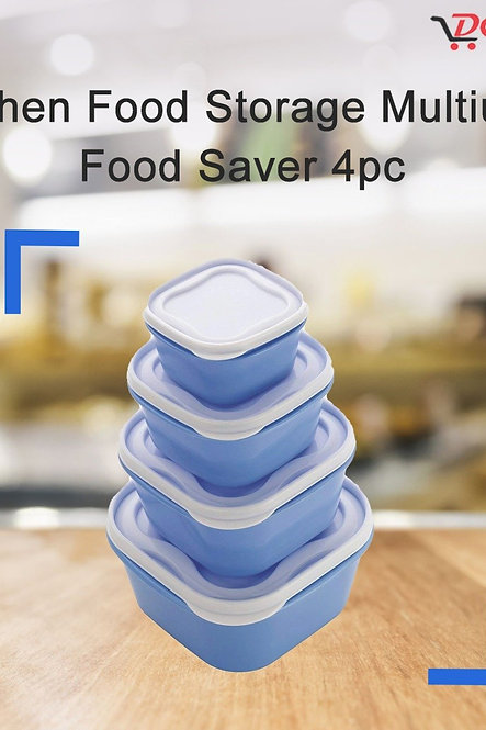 2029 Kitchen Food Storage Multiuse Food Saver 4pc