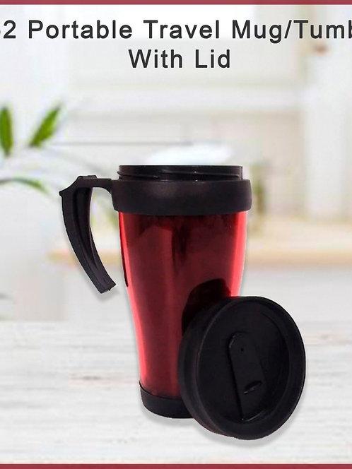 0552 Portable Travel Mug/Tumbler With Lid