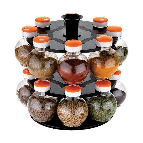 2015_Multipurpose Revolving Plastic Spice Rack Set (16pcs)