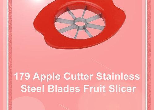 0179 Apple Cutter Stainless Steel Blades Fruit Slicer