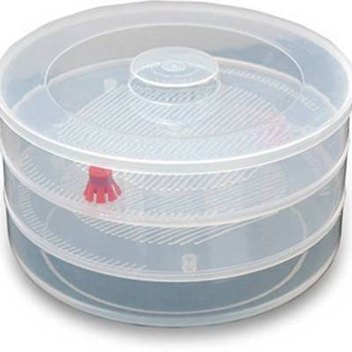 2059 Patidar Plastic 3 Compartment Layer Sprout Maker Box