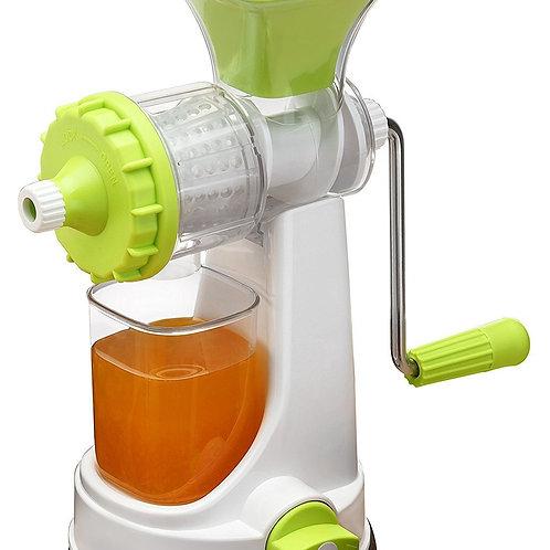 0140 Plastic Multipurpose Manual Juicer (Green)