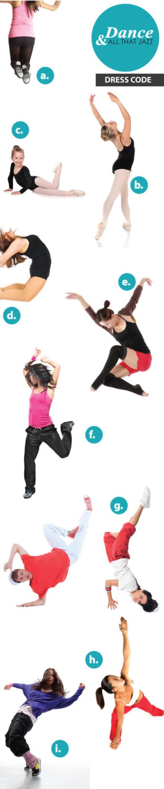 Dance & All That Jazz| Dress Code