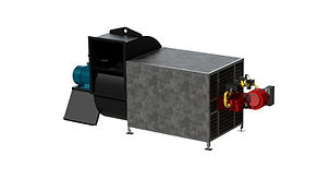 Generadores de aire caliente directos a gas GAZ