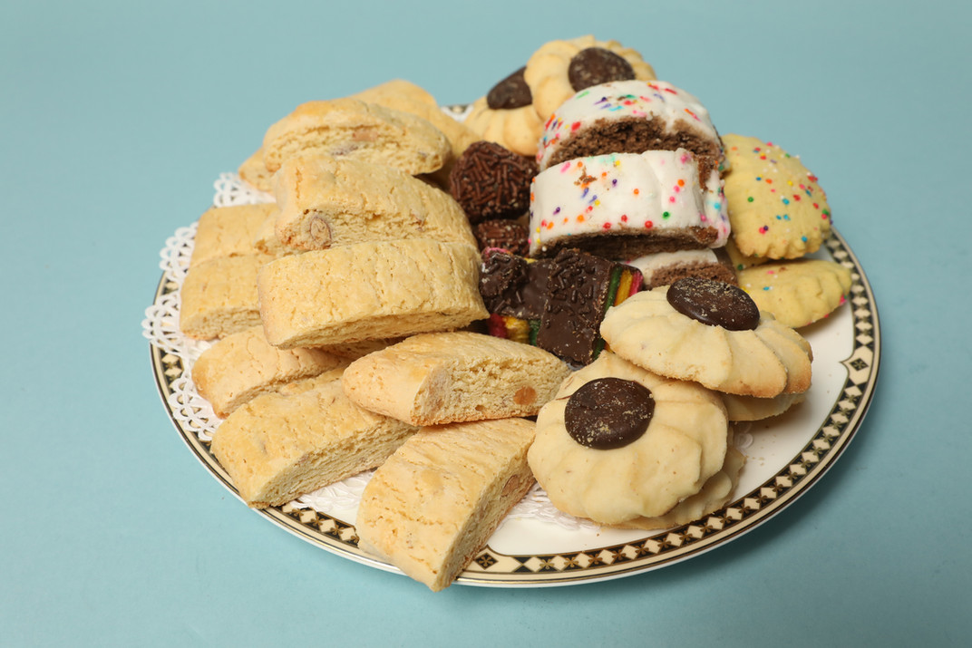 Assorted Italian Cookies and Biscotti