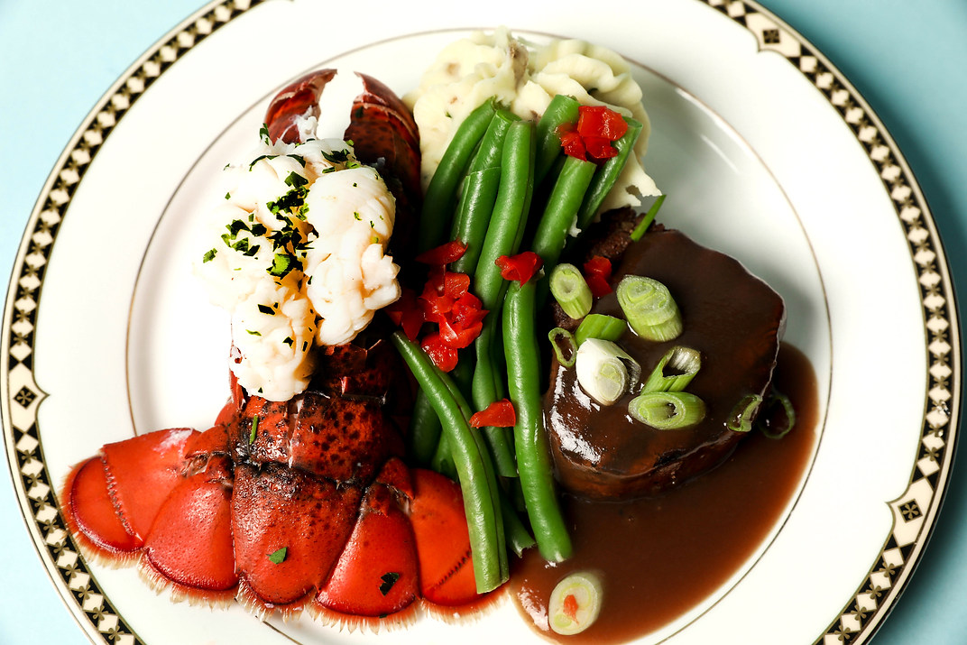 Petite Filet Mignon paired with Maine Lobster Tail (GF)