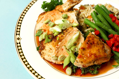 Ginger Marinated Airline Breast of Chicken (GF)