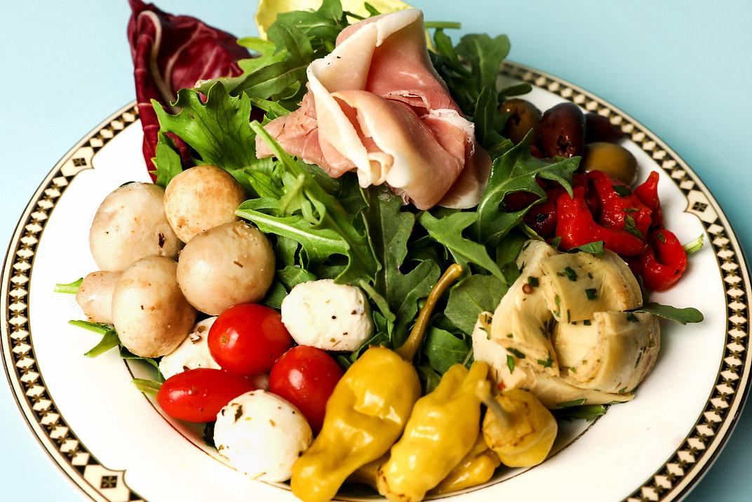 Italian Antipasti Salad (GF)