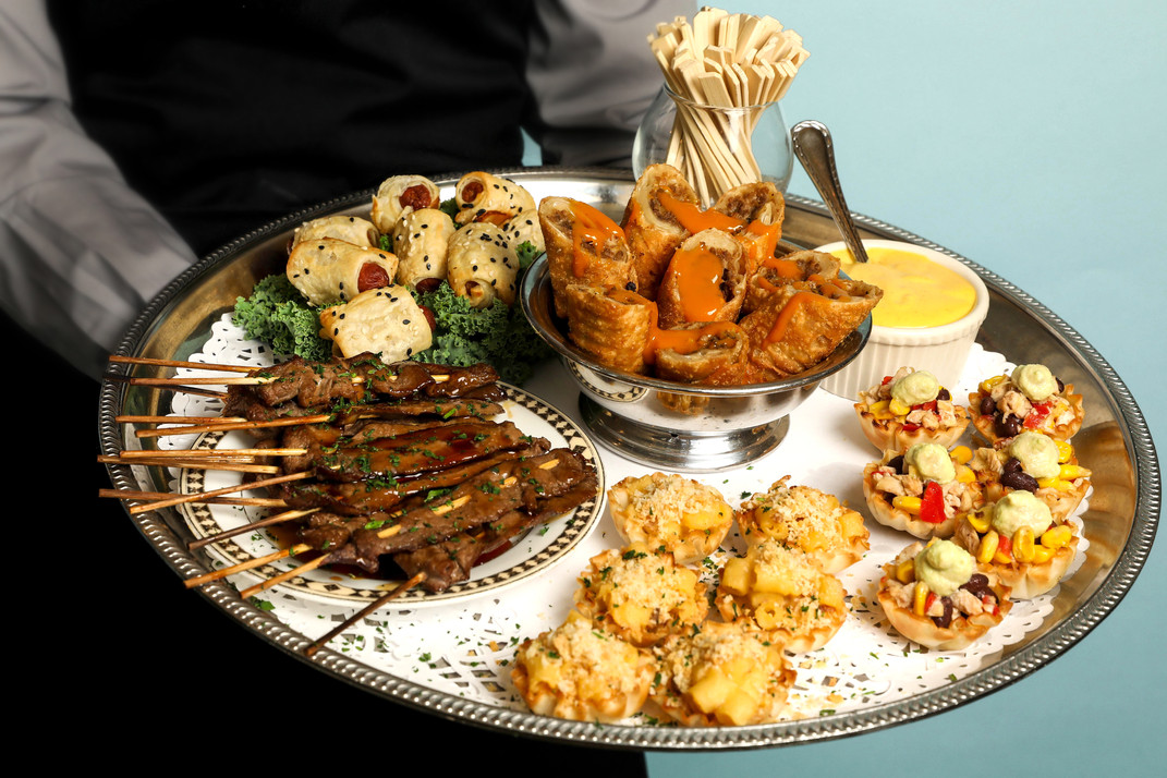 Butler-Passed Hors d'oeuvres