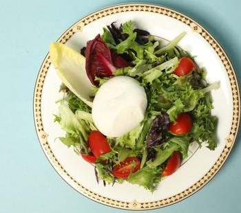 Local Burrata and Heirloom Tomato Salad
