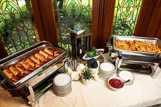 Grilled Cheese and French Fry Station
