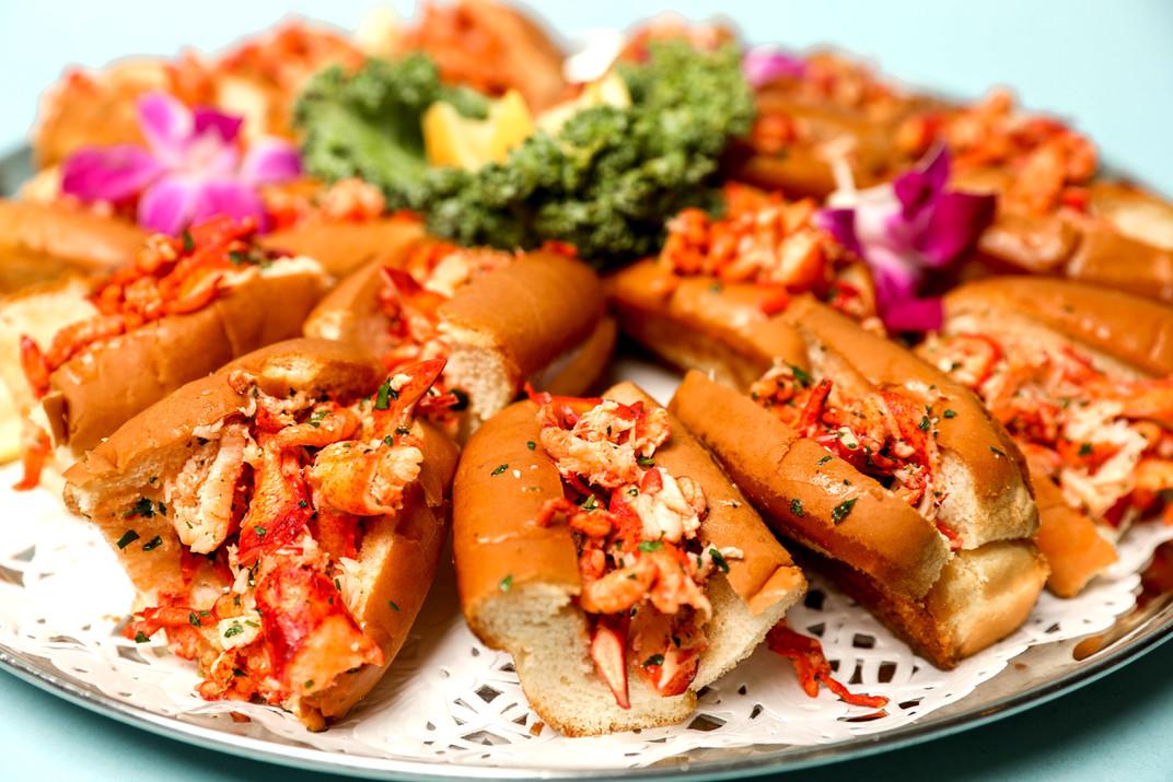 Mini Hot Lobster Rolls