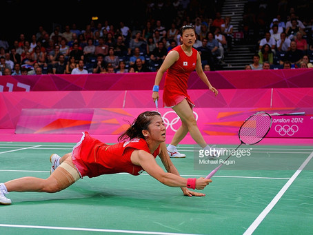 Keeping Balance in Badminton