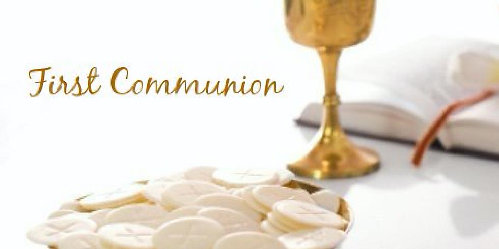 First Communion | Primera Comunión (Primer Grupo)