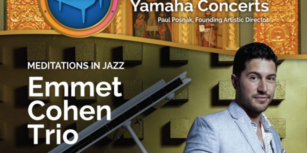 Emmet Cohen Trio Concert