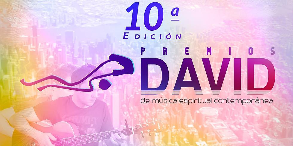 X Edición Premios David