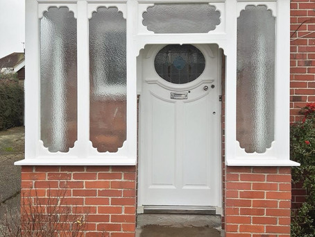 Renovating an old porch
