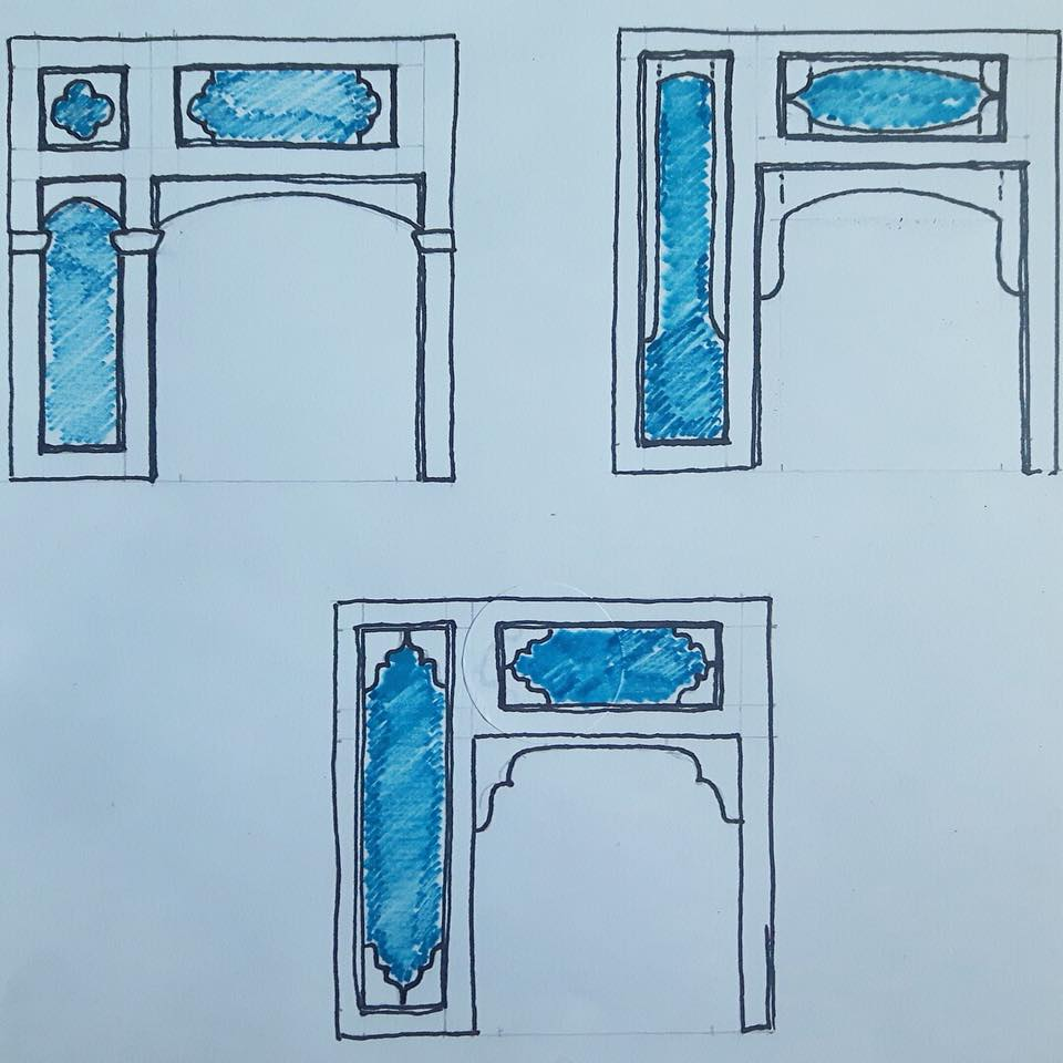Porch drawings