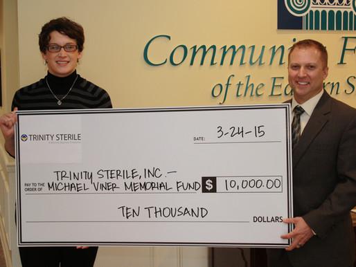 Trinity Sterile, Inc. Establishes Memorial Fund at Community Foundation