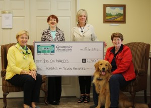 Spirit of Esther Fund Supports 'Pets On Wheels'