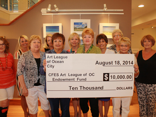 Art League of Ocean City Establishes Permanent Endowment Fund at the Community Foundation