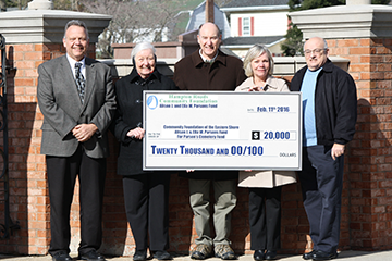 Historic Parsons Cemetery Receives $20,000 Donation