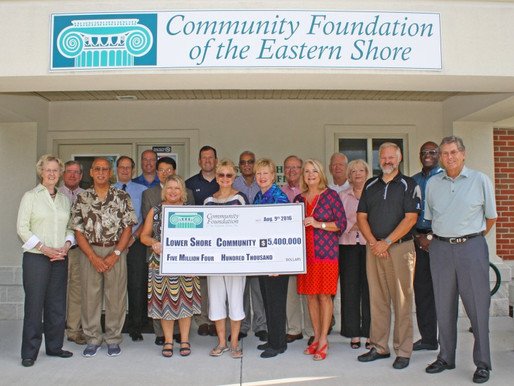 Community Foundation Achieves $5.4 million in Annual Grant Making