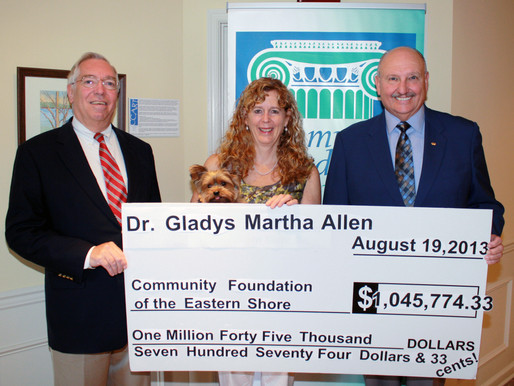 Community Foundation Receives Legacy Gift from Local Doctor