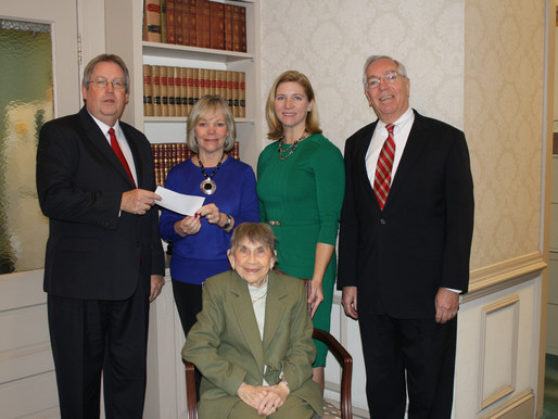 Hearne & Bailey Associates Establishes Fund in Honor of Ruth Donaway