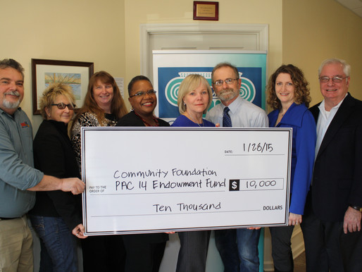 Local Public Access Channel PAC 14 Establishes Permanent Endowment Fund at Community Foundation