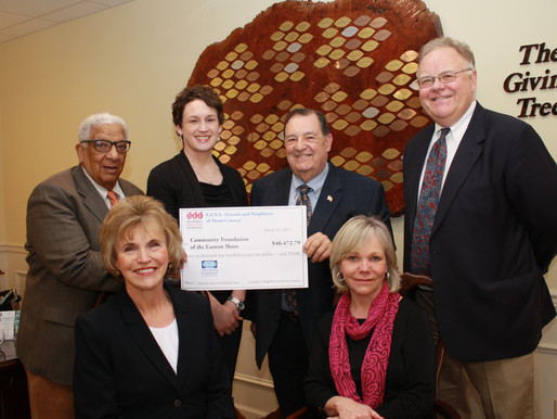 Delmarva Education Foundation Contributes to Community Foundation's Norman H. Conway Scholarship Fun