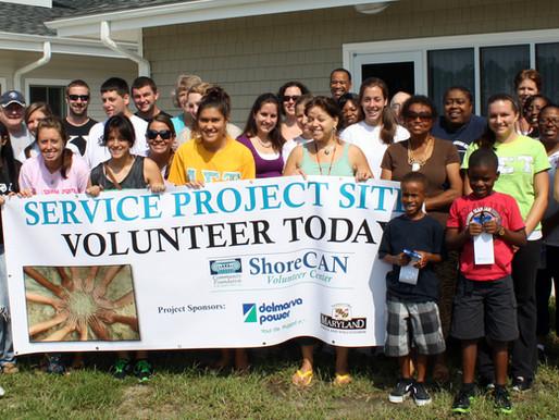 ShoreCAN Volunteer Center Marked 10th Anniversary of 9/11 with Volunteer Event