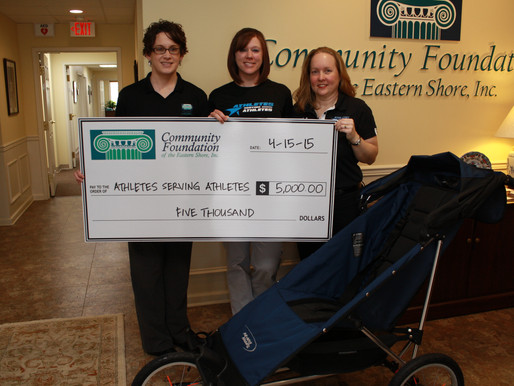 Athletes Serving Athletes Receives $5,000 from Community Foundation