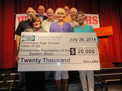 Pocomoke High School Class of '64 Establishes Scholarship at Community Foundation