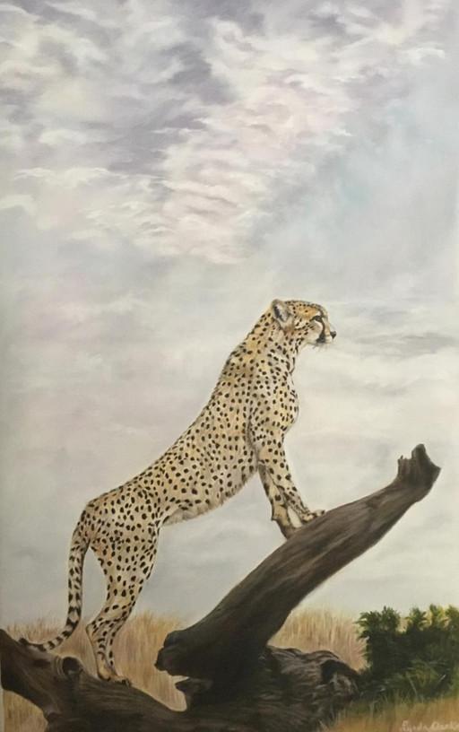 Cheetah at Sunrise (SOLD)
