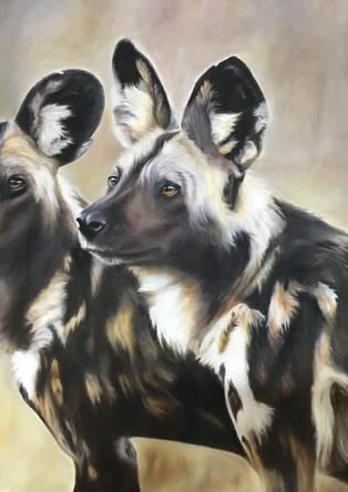 Two Wild Dog