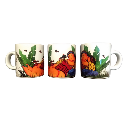 Mini Caneca Tropical